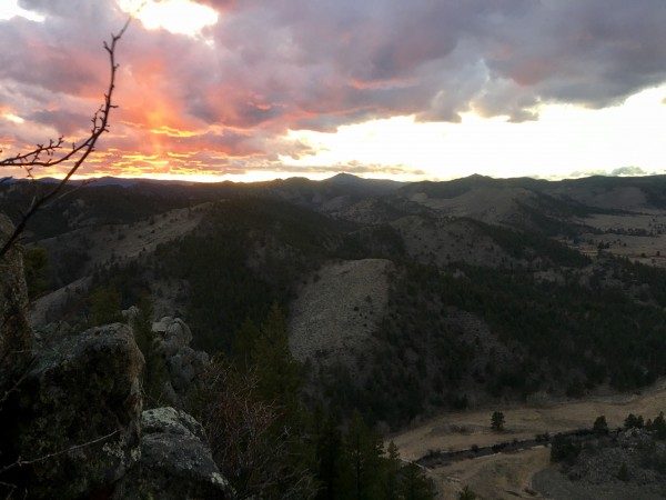 Someday Ridge, la primera vez
