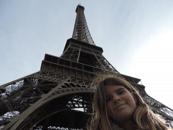 Famous city landmark