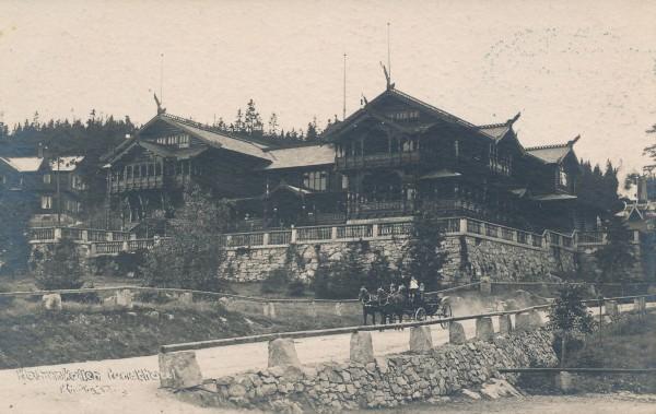 Holmenkollen Turisthotell 1890-1895