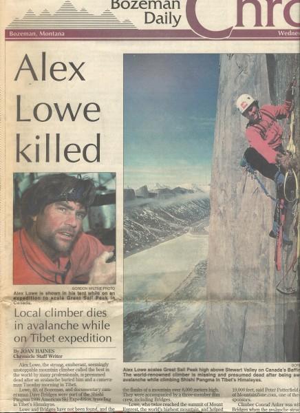 Bozeman Daily Chronicle 10/6/1999
