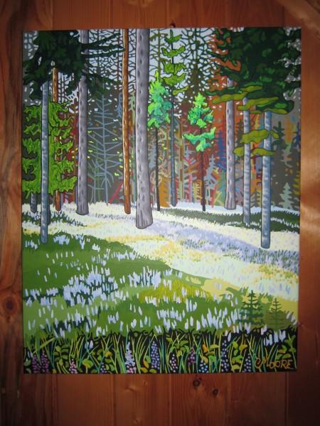 Peter Moore painting