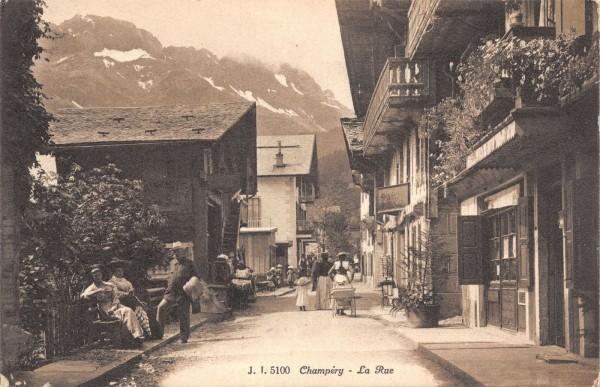 Champery - La Rue
