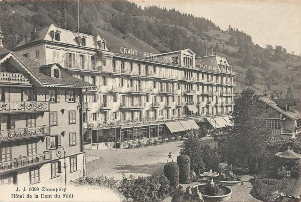 Champery - Hotel de la Dent du Midi