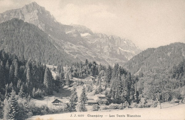 Champery - Les Dents Blanches
