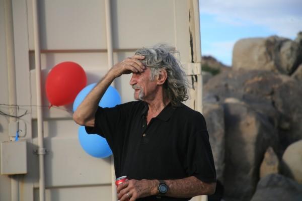 Jim Bridwell in Joshua Tree October 29, 2016