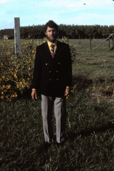 My last sports jacket and tie. 1978