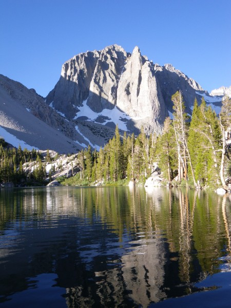 Temple Crag, from First Lake