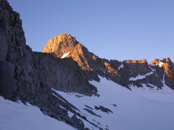 Mt. Sill alpenglow