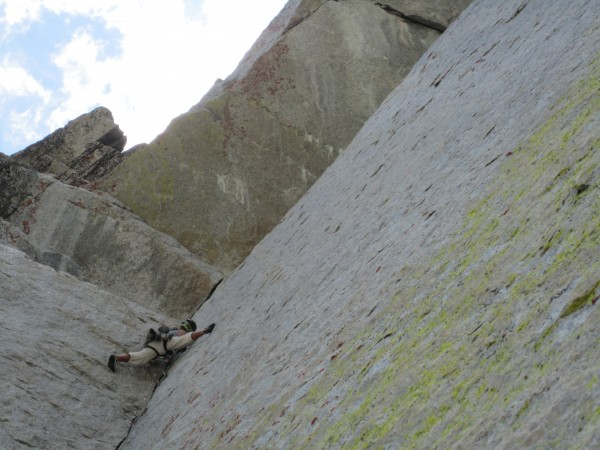 top of the dihedral, pitch 3