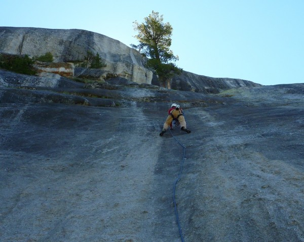 The kid (not The Kid) on his first 5.8 lead July 19, 2010. Cheeseburge...