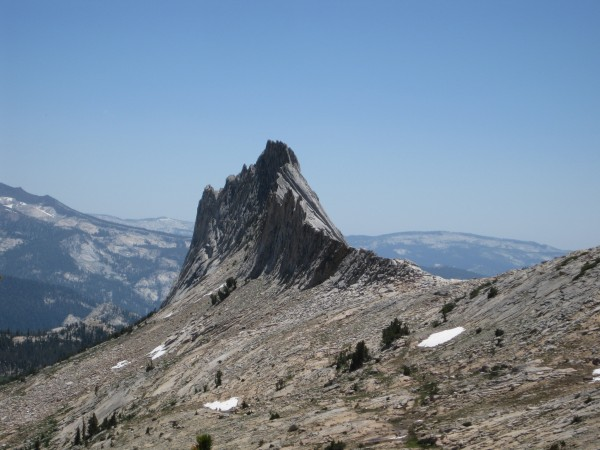 Matthes Crest, from near Cockscomb