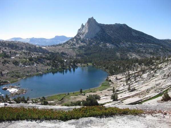 Cathedral Peak and Budd Lake