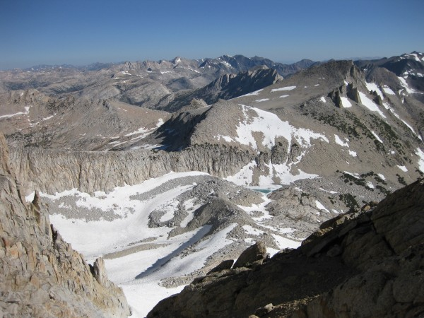 start of the North Ridge of Mt. Conness