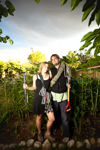Bishopican Gothic  (out takes from a magazine article on gardening and...