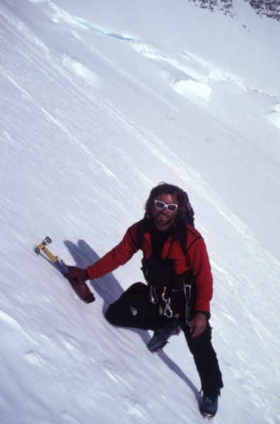Mugs - base of the west face of Tyree, Ellsworth Mountains, Antarctica