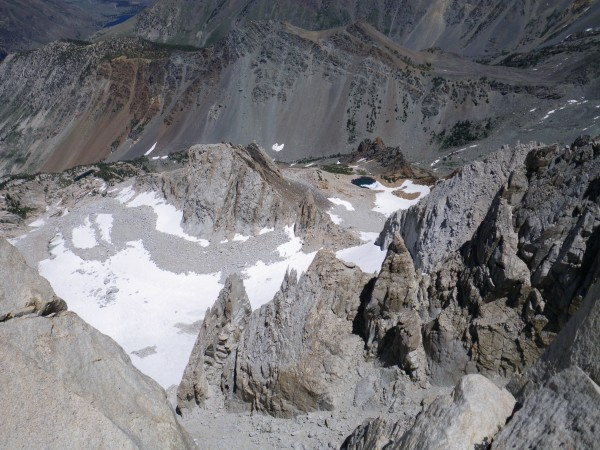 View from top of North Arete