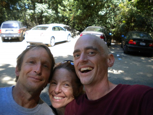 good friend Tom Ogden, my WIFE Ruth Riffe, and me (Paul Humphrey)