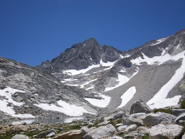 Bear Creek Spire, from Dade Lake (11600')
