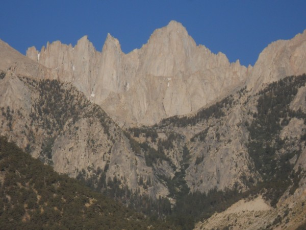 Whitney from the Lone Pine Campground