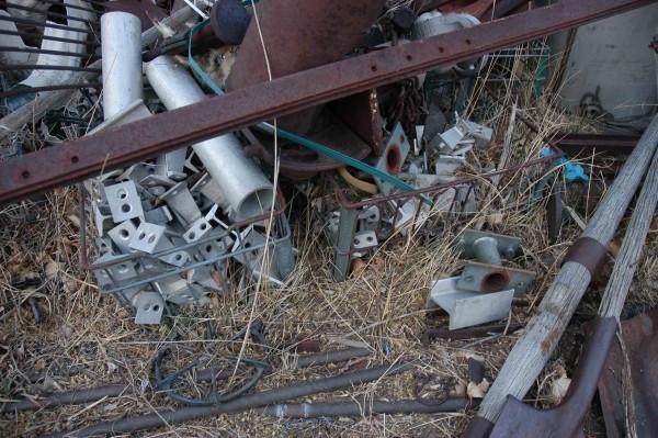 The scrap pile in '09