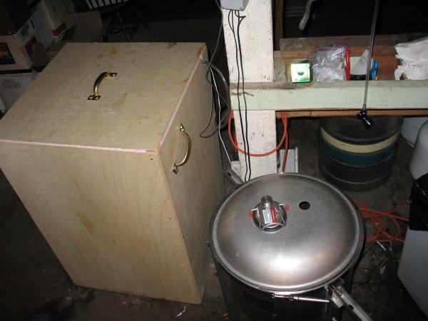 Fermentor box, exterior