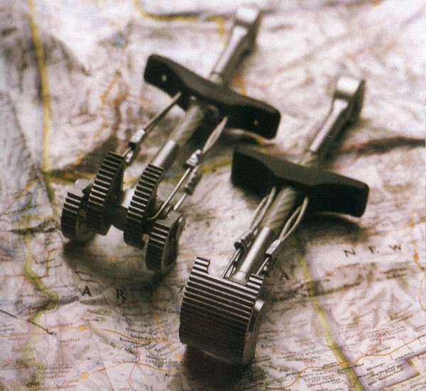 4-Cams and Bi-Cams (photo Long Climbing Gear brochure)