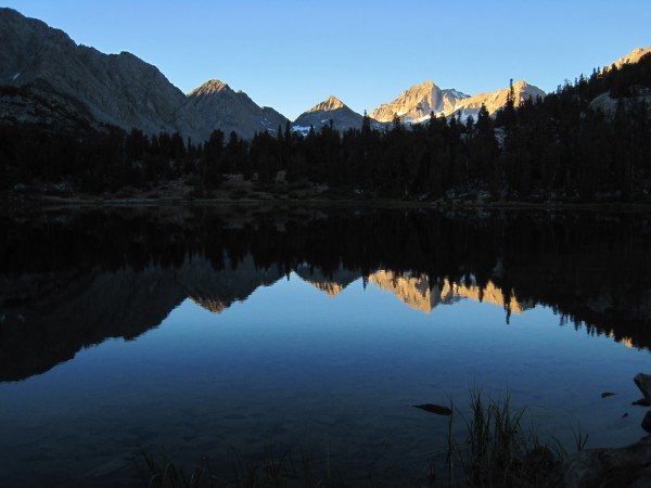 Morning reflection - Bear Creek Spire - 9/10/10