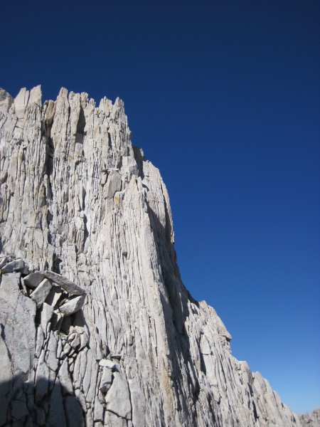 N Arete on Bear Creek Spire - 9/10/10