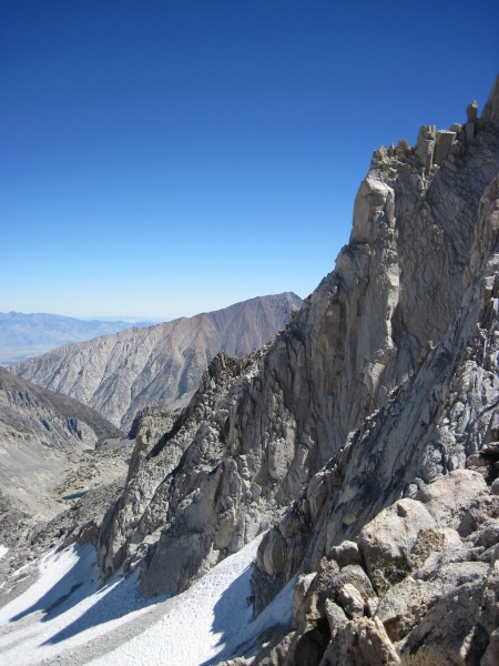 N Arete of Bear Creek Spire - 9/10/10