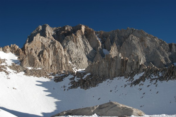 Mt. Russell from Iceberg Lake.