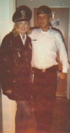 Susie in uniform!