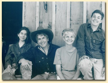 From Doubletree Ranch website: Rick and Carol and their kids.