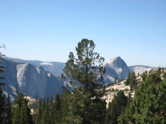 Quarter Dome and Half Dome.