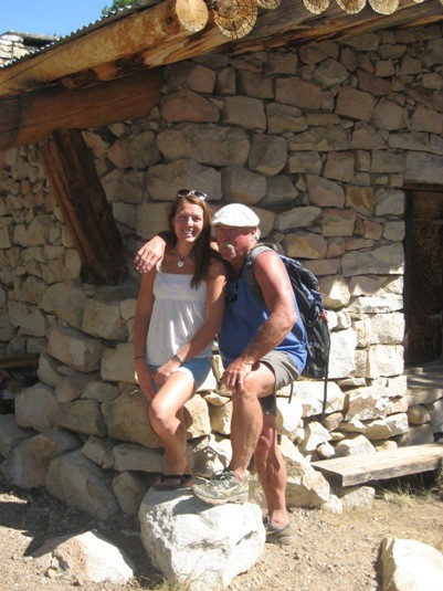 Kali & Guido, Sierra Club hut, Tuolumne Meadows.