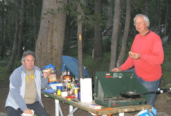 Dr. Deeg & BooDawg in T. M. campground.