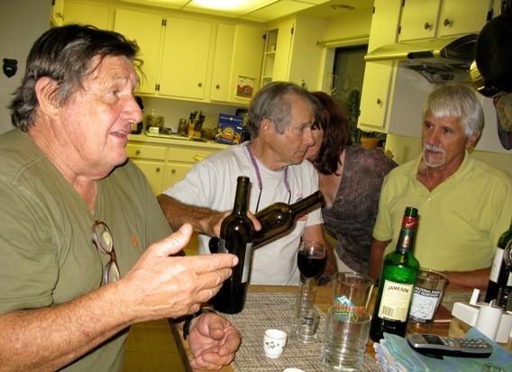 Dennis Hennek, Don Lauria, Russ McLean.