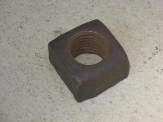 Original nut from Clog Railroad, N. Wales.