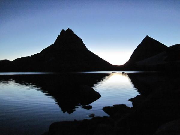 Morning light on Royce Lake - 9/11/10