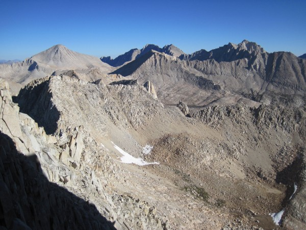 Bear Creek Spire from Feather Peak - 9/12/10