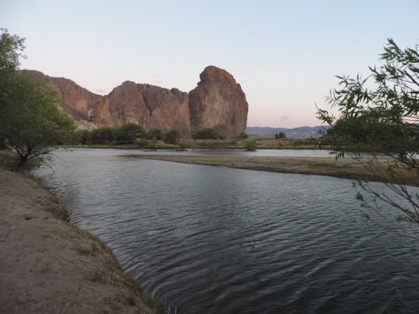 Piedra Parada and Rio Chubut