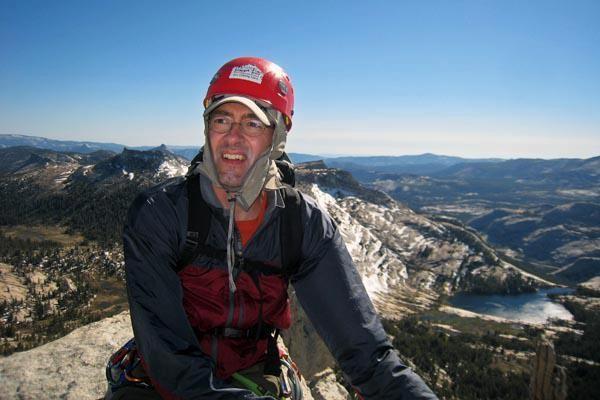 John Roe on Summit of Cathedral Peak