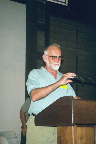 Royal Robbins at 1999 C-4 Reunion
