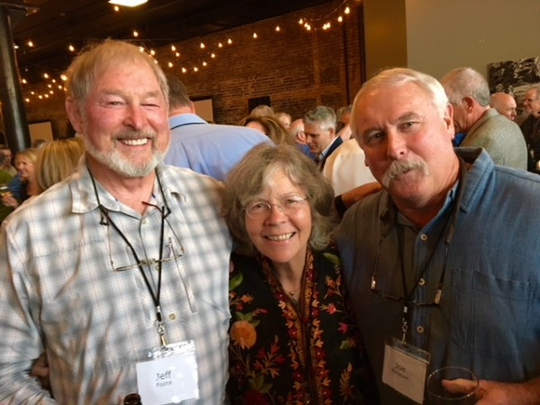 Jeff Foote, Janie Taylor Levy, and Joe McKoewn