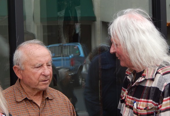 Yvon Chouinard and Mike Covington