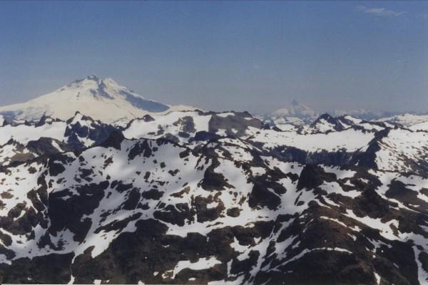 Volcanoes in northern Patagonia