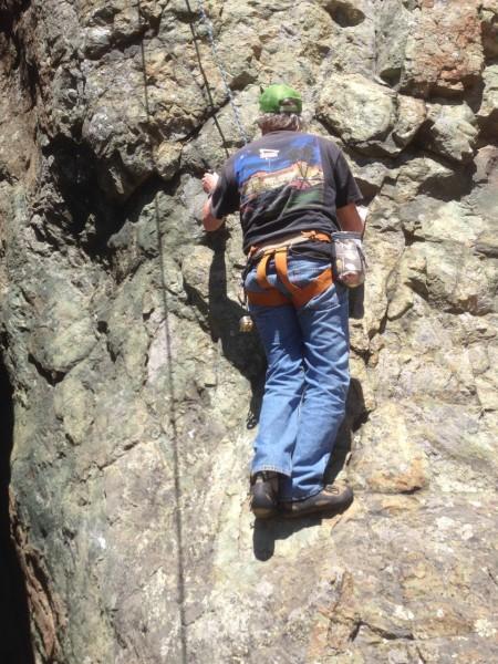 """Chuck's Last American Climb, """"My Grandma Don't Love Me"""" Split Rock, Ma..."""