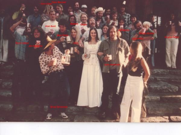 mike white wedding - 1974