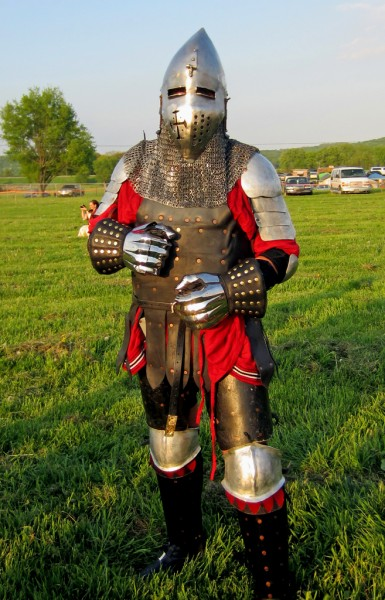 Bring it on <br/> 72 pounds of armor <br/> I've ended up in the ER only twice