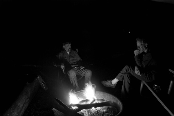 I miss Crowley around the campfire