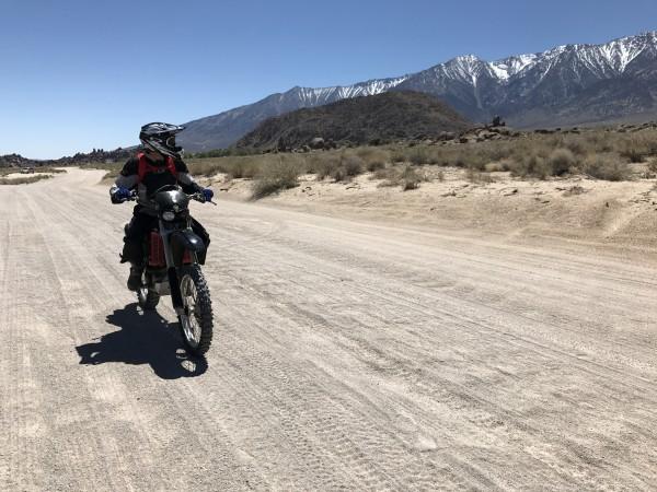 I wonder if we can reach Upper Boyscout lake on dirtbike....rangers wo...